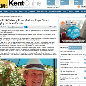 kent-rhs-chelsea-gold-medal-winner-roger-platts-is-judging-the-show-this-year