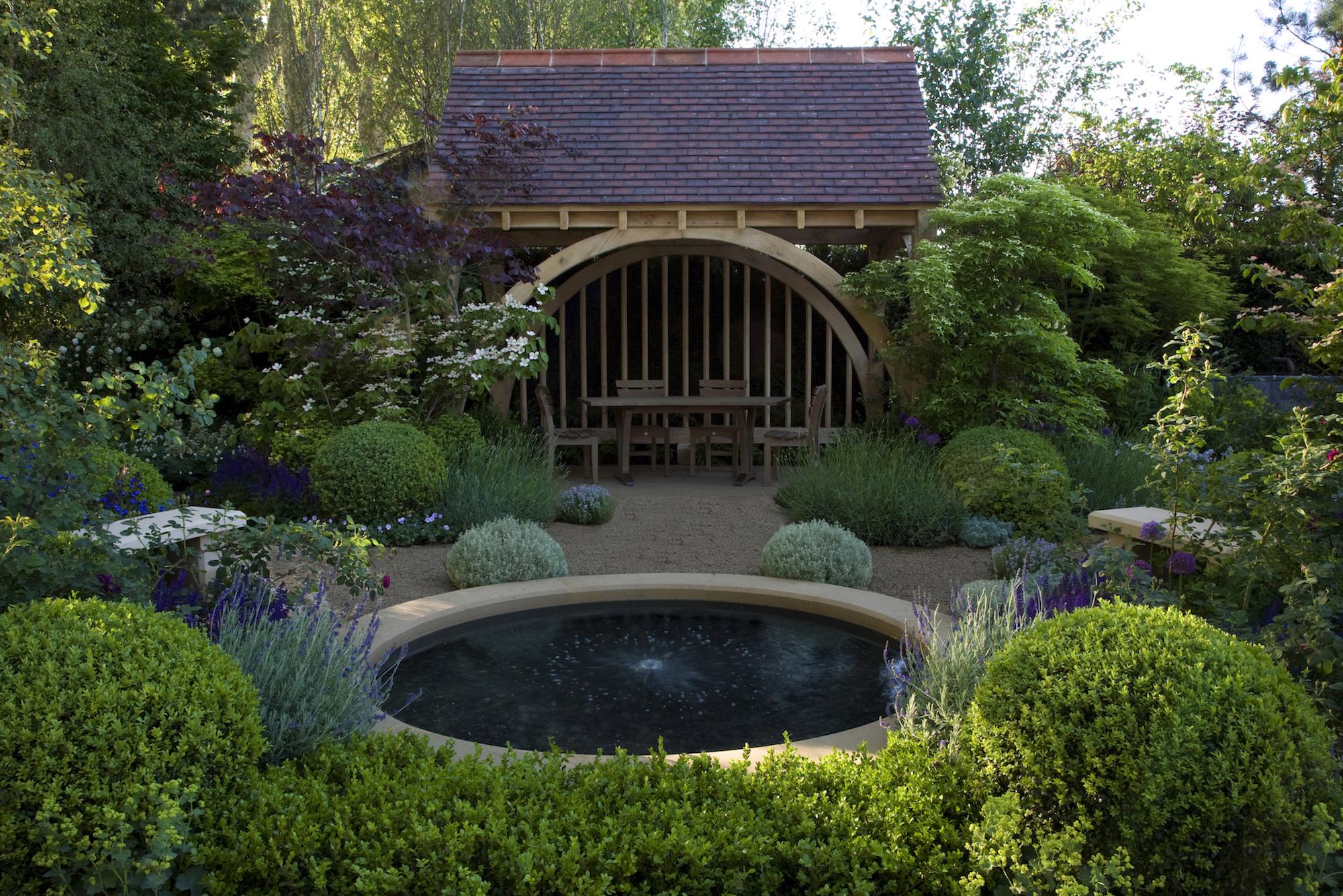 it's gold for roger! - roger platts garden design and nurseries