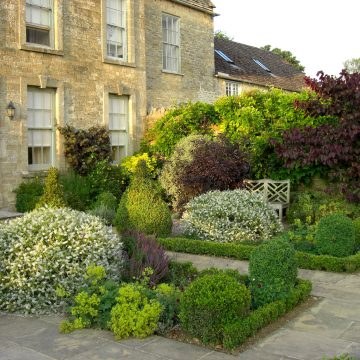 Country Manor Garden Design in Oxfordshire
