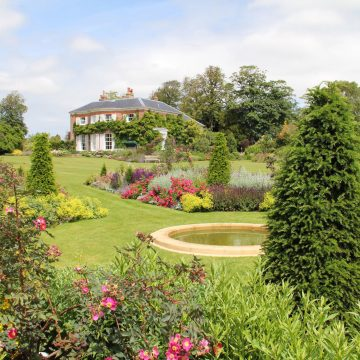 Country Manor and Estate Garden Design. Large garden Design