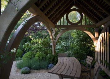 Oak Summerhouse supplier and installer