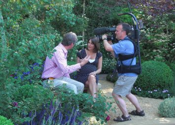 Roger Platts interview with the BBC about the Garden at The Chelsea Flower Show, Media and Press Coverage