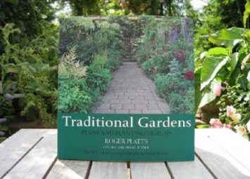 Traditional Gardens by Author Roger Platts. Plants and planting designs